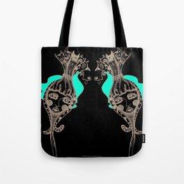 CrazyCatGirl Tote Bag