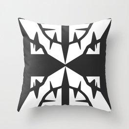 X Dark Throw Pillow