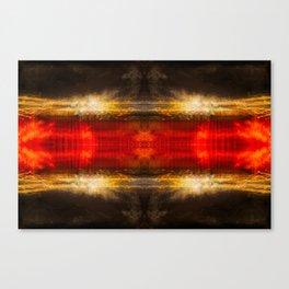 Sedona lights geometry IV Canvas Print