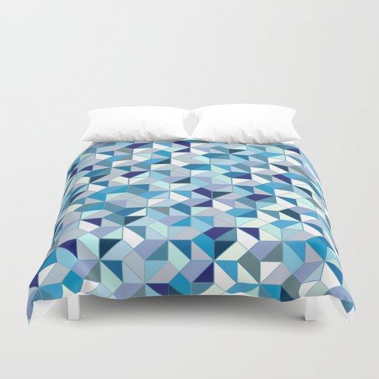 Geometrica (blue) Duvet Cover