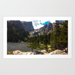 Dream Lake, Northern CO Art Print