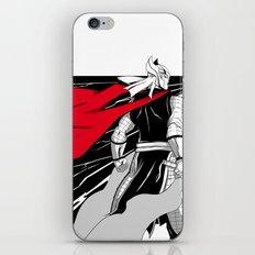 The God of thunder iPhone & iPod Skin