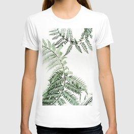 Watercolor plant T-shirt