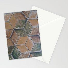 Heidelerg Castle Geometric Floor Tile Stationery Cards
