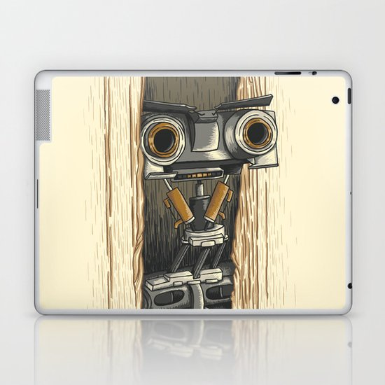 Here's Johnny 5! Laptop & iPad Skin