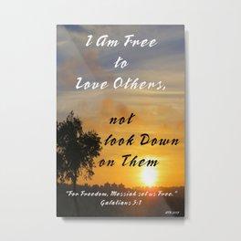 Love Others Metal Print