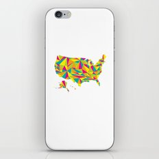 Abstract America Bright Earth iPhone & iPod Skin