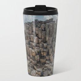 The world of hexagonal stones Travel Mug