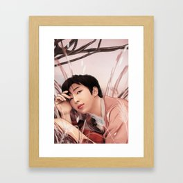 BTS RM LOVE YOURSELF FANART Framed Art Print