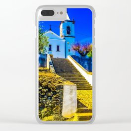 Stairs of faith Clear iPhone Case