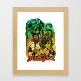 Blackjack: Second Bite of the Cobra Framed Art Print