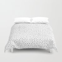 polka dots Duvet Covers featuring Polka Dots by Anais Moods
