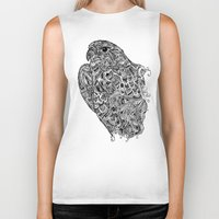 hawk Biker Tanks featuring Hawk by kayse wieneke