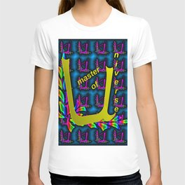 U - pattern, master of U niverse 1 T-shirt