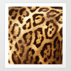 Jaguar Pattern Art Print