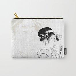 Geisha Sumi-e Carry-All Pouch
