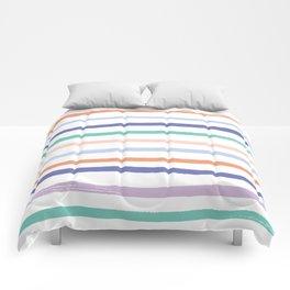 Fruit Stripes - Blueberry Comforters