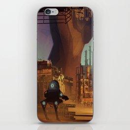 Desert industry iPhone Skin