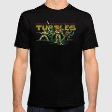Philippine Revolutionary Ninja Turtles Black Mens Fitted Tee LARGE