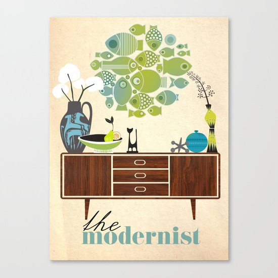 the Modernist Canvas Print
