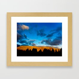 Sun and the Darkness Framed Art Print