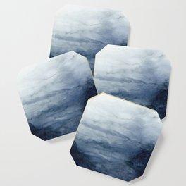 Indigo Abstract Painting | No.2 Coaster