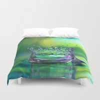 crown Duvet Covers featuring Kings Crown by ThePhotoGuyDarren