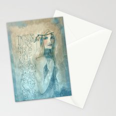 I must be a mermaid Stationery Cards