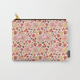 Springtime Print Carry-All Pouch