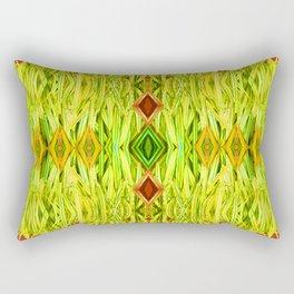 Tiki Hut Rectangular Pillow