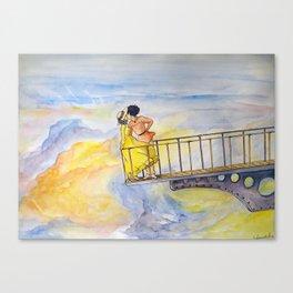 Sophie and Hauru Canvas Print