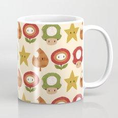 mario items pattern Mug