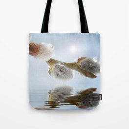 Pussy willow 0117 Tote Bag