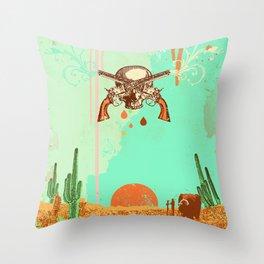 WESTERN DESERT Throw Pillow