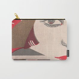 Flapper and Wine Carry-All Pouch
