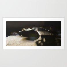 Les Paul 4 Art Print