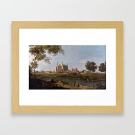 Eton College Chapel by Canaletto Framed Art Print