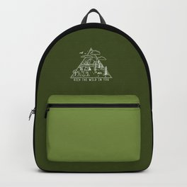 Go Wild Camping Illustration 2 Backpack