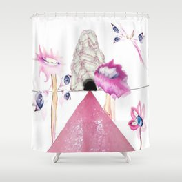 Portrait Landscaped #2 Shower Curtain