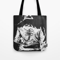 en lo blaco e negro Tote Bag