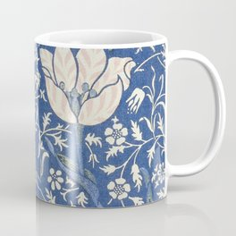 William Morris Victorian blue flowers Coffee Mug