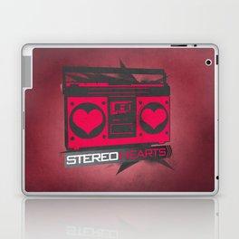 Stereo Hearts Laptop & iPad Skin