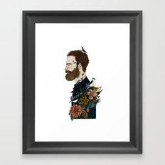 MNwithsomething Framed Art Print