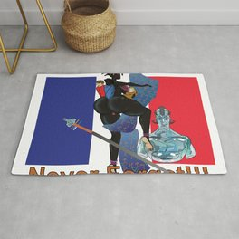 Never Forget France Colonization by: Matthew J Powell Rug