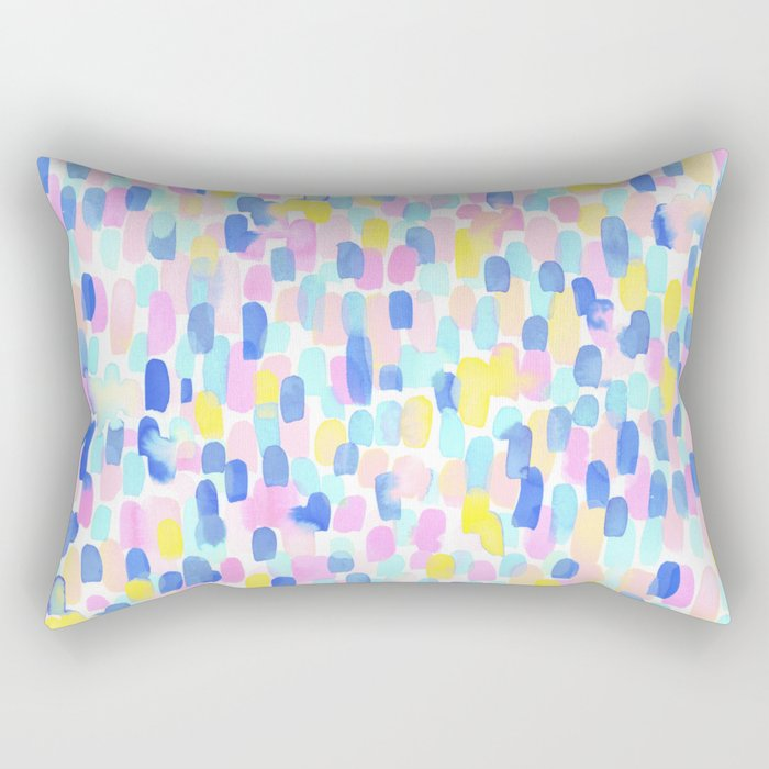 Delight Pastel Rectangular Pillow