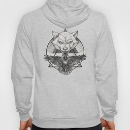Wolf and Crow - Emblem Hoody