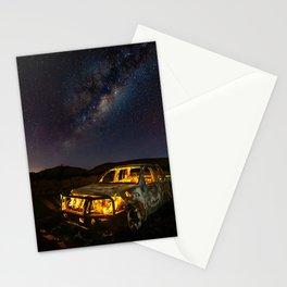 Burnt Truck Under Australian Milky Way Stationery Cards