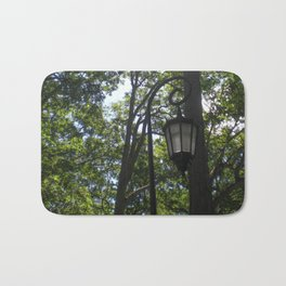 Lamppost, Wellesley College Bath Mat