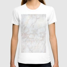 White Marble 004 T-shirt