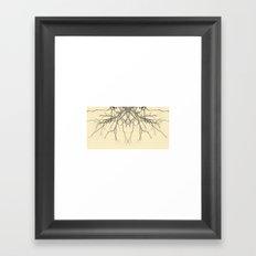 branches#04 Framed Art Print